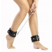 Leather and Chain Ankle Leg Restraint