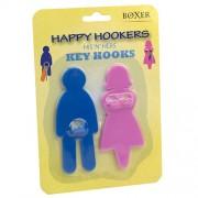 Happy Hookers His N Hers Key Hooks