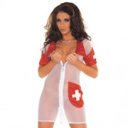 Sexy Cosplay Nurse Dress