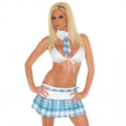 School Girl Sexy Uniform 3pcs