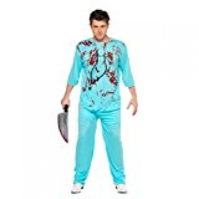 Blooded Surgeon Halloween Costume