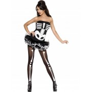 Fever Skeleton Costume for Halloween.
