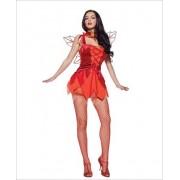 2 pc Autumn Fire Fairy costume