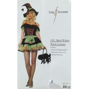 Black Widow Witch Halloween Costume by Leg Avenue