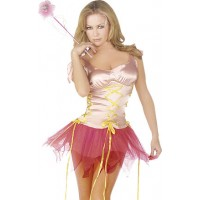 2 PC Pink Fairy Costume