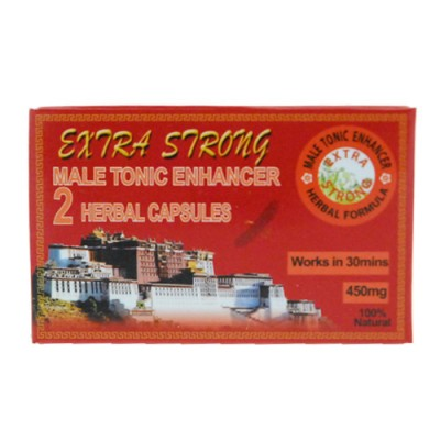 Extra Strong Male Erection Enhancer x2 tabs