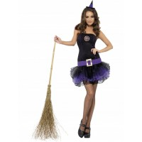 Fever Purple Witch Tutu Dress