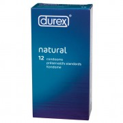 Durex Natural  Condoms 12pk