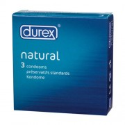 Durex Natural Condoms 3 pack