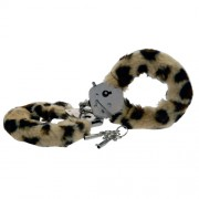 Toy Joy Furry Fun Cuffs Leopard Plush