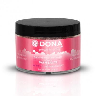 DONA Bath Salts Flirty Blushing Berry 215g