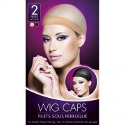 Wig Caps in Nude and Black