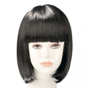China Doll Black Bob Wig