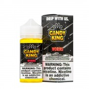 Candy King Sour Worms 120ml