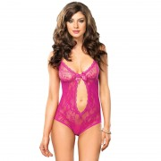 Leg Avenue Keyhole Cut Out Teddy UK 8-12