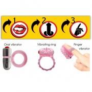 3-Way Tongue Joy Oral Microvibe Kit