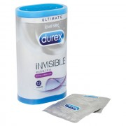 Durex Invisible Extra Lubricated Condoms12 Pack