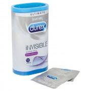 Durex Invisible Extra Lubricated Condoms12 Pack