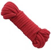 Japanese Style Bondage Rope in Red