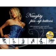 Tattoo Set Naughty Pin Up