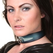 House of Eros Blue Swirl Collar