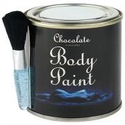 Chocolate Body Paint Tin and Brush
