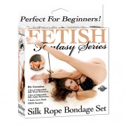 Fetish Fantasy Series Beginners Silk Rope Bondage Set