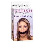 Fetish Fantasy Series Latex Ball Gag