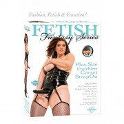Fetish Fantasy Series Plus Size Crotchless Strap On