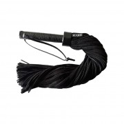 Rouge Leather Handle Suede Flogger