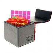 Devine Condom Cube Wine Lace Overlay