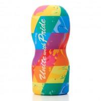 Tenga Unite Pride Rainbow Vacuum Cup Masturbator