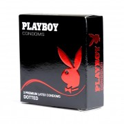 PlayBoy Dotted Condoms 3 Pack