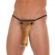 Brown Horse Novelty G-String