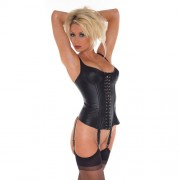 Leather Basque