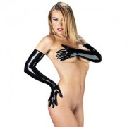 Rubber Secrets Long Latex Gloves