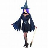 Smiffys Sexy Black witch Costume